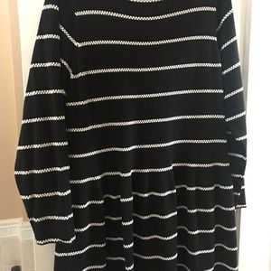 EUC Eliza J Striped Sweater dress, 2X